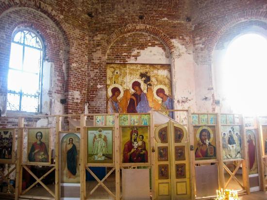 Ostrov Anzerskiy, روسيا: Анзер - Троицкая церковь