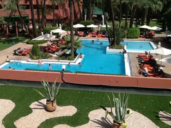 Vue chambre avec balcon picture of hotel kenzi farah for Chambre avec vue