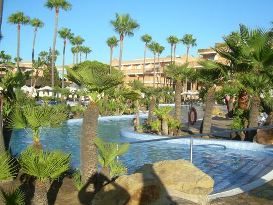 Piscina picture of hipotels barrosa park chiclana de la for Piscinas chiclana