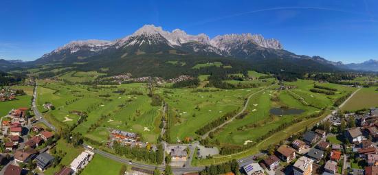 Hotel Christoph: Golfplatz Wilder Kaiser
