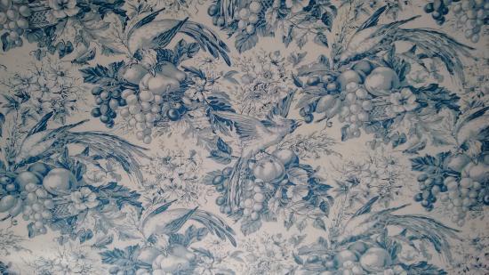 Bezancourt, France : The Fabric wallcovering