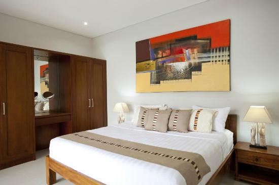 Villa Rendezvous Bali : Master bedroom, downstairs