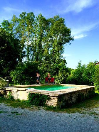 La Chapelle du Domaine : pool