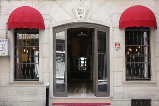 The Pera Hotel: EXTERIOR