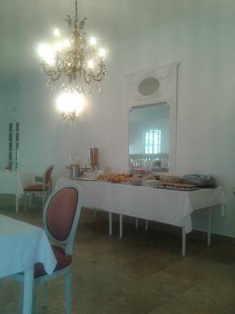 Hotel Les Deux Lions : colazione