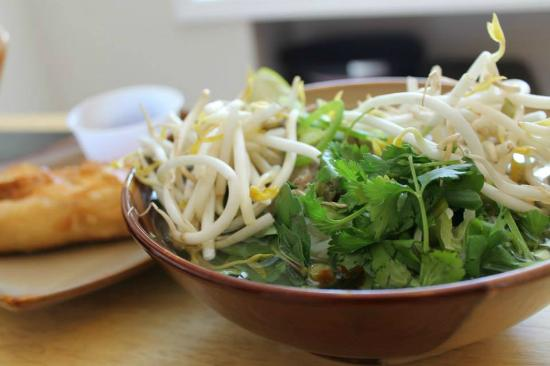 Thanh Thanh 3: Pho and fried spring rolls