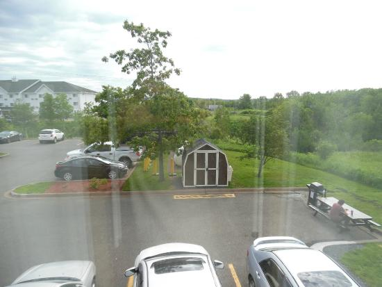 Comfort Inn - New Glasgow: View from Second Story End Unit