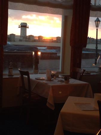 Hotel Ostfriesenhof: Blick vom Restaurant