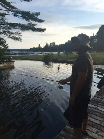 St. Germain Lodge and Resort: Fishing