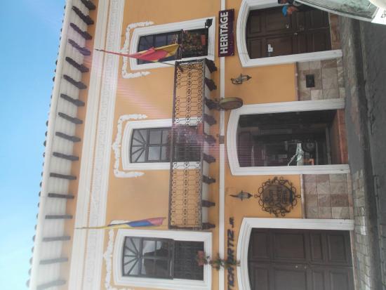 Hotel San Andres : Desde afuera ya la sensación es buena!