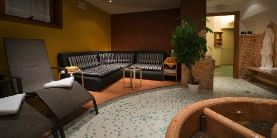 Hotel St Michael: Wellness - relaxing area