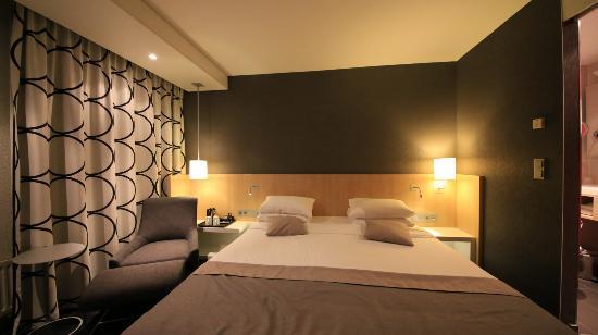 la chambre d'hôtel. - picture of mercure hotel amsterdam city
