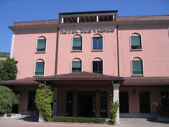 Hotel Des Vignes: Вход в отель
