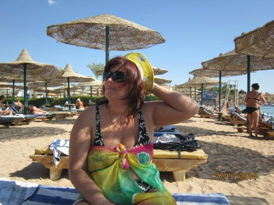 Al Bostan Hotel: Пляж