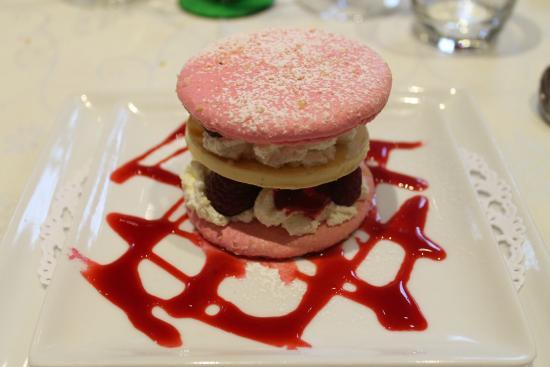 Raon-l'Etape, Франция: un des desserts du restaurant trés bon !!!