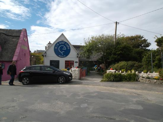 The Ivy Cottage: Sea Salt Cafe, Doolin.