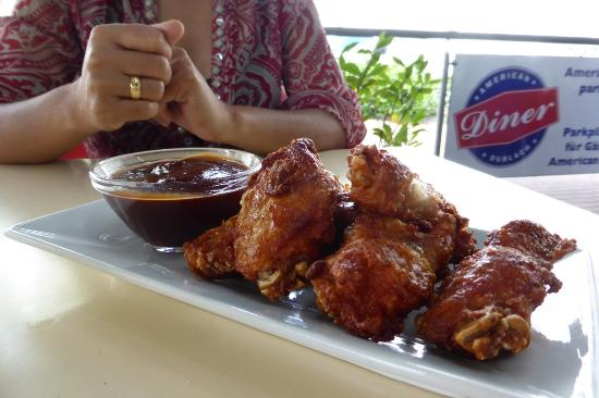 American Diner Durlach: Chicken Wings
