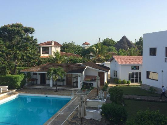 Galu Inn: View from room balcony