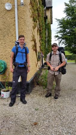 Walkers at Ardmore Country House kinnitty