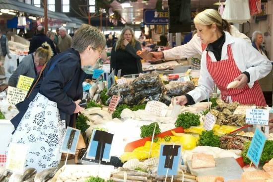 Bolton, UK: Plenty of produce to be had!