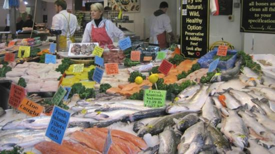 Bolton, UK: Salmon or haddock?? why not both!