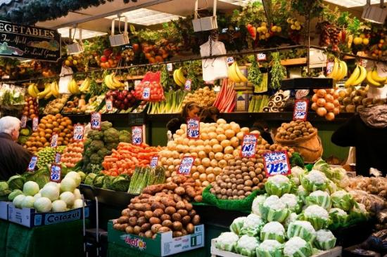 Bolton, UK: All the fruit and vegetables you need and under one roof!