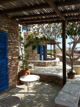 Windmill Bella Vista : une terrasse chambre