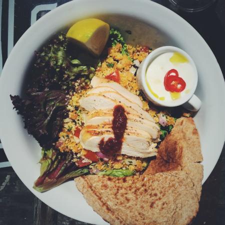 Drift-In Surf Cafe: Moroccan Chicken Salad