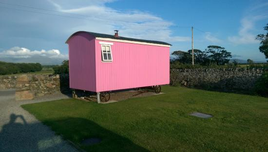 Pink Hut Picture Of The Outbuildings Menai Bridge Tripadvisor