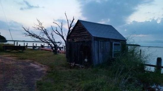 Ewell, MD: Great sunset at a shanty showing the views by the B&B.