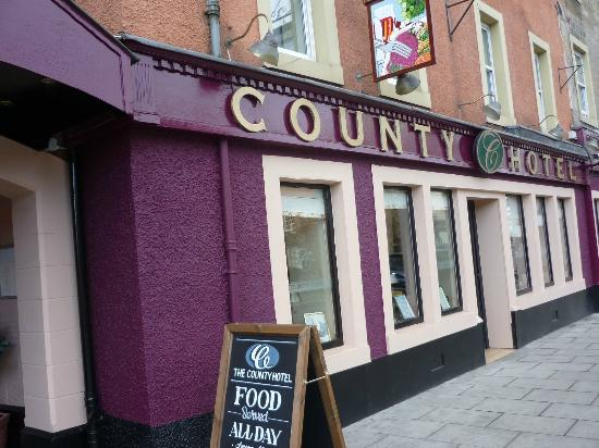 The County Hotel: Eingangsbereich