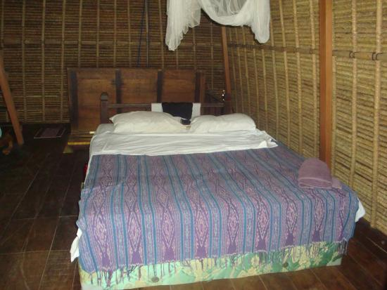 Lumbung Damuh: the rustic but comfortable room