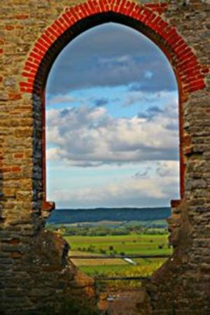 View from Burrow Mump