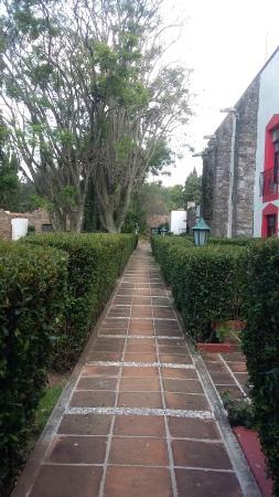 Mision San Gil: Pasillo a la habitación
