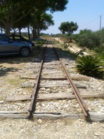 Il Cuore di Dioniso Dimora D'Epoca : LA ferrovia storica (interrotta) all'interno della proprietà