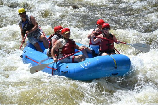 Rocky Mountain Adventures Rafting On The Poudre