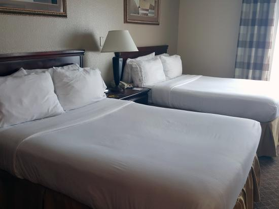Holiday Inn Express Austin North Central: Very comfortable rooms, beds and bedding
