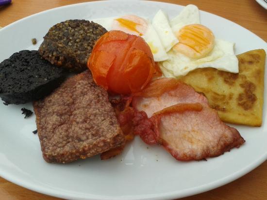 Tayinloan, UK: All-day breakfast