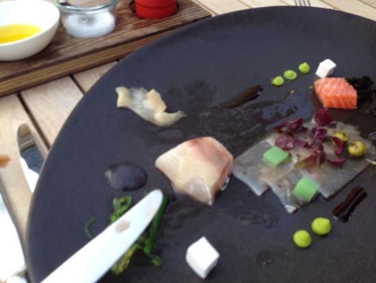 Dillenburg, Niemcy: Asiatisches Menü: schön authentisch und kreativ präsentiert, dazu spontan geschmacksintensiv -zu