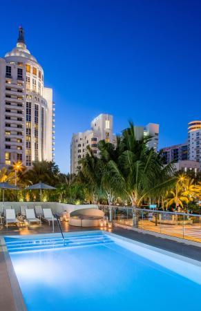 Hyatt Centric South Beach Miami Rooftop Deck Pool