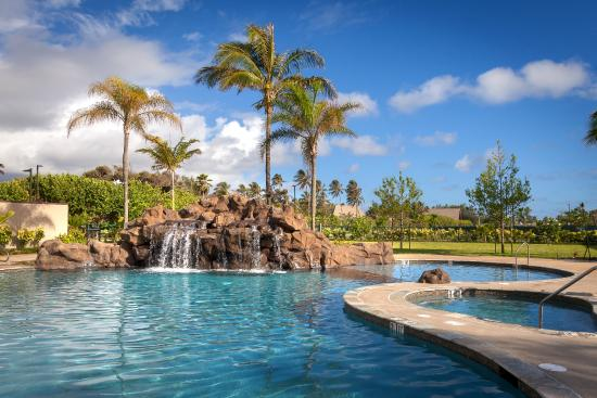 Courtyard By Marriott Oahu North S Outdoor Pool