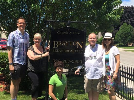 Brayton Bed and Breakfast : This was a group...we had a blast...and am most appreciative for the hospitality.