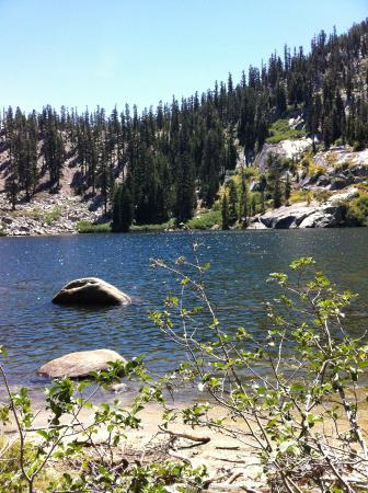 Fallen Leaf, CA: Angora Lake (Upper)