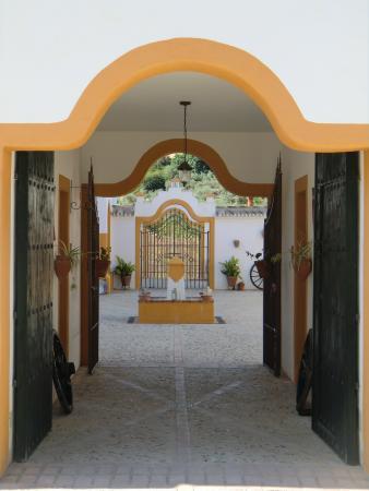Hacienda la Morena : entrée