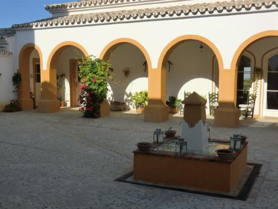 Hacienda la Morena : fontaine
