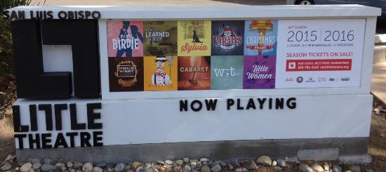 San Luis Obispo Little Theatre: Now Playing: 2015-2016 Season!