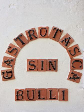 Gastrotasca Sin Bulli