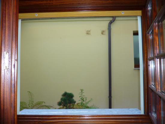 Barro, Spagna: Maravillosas vistas desde la habitación N. 7 .