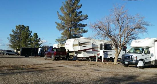 A Deming Roadrunner RV Park