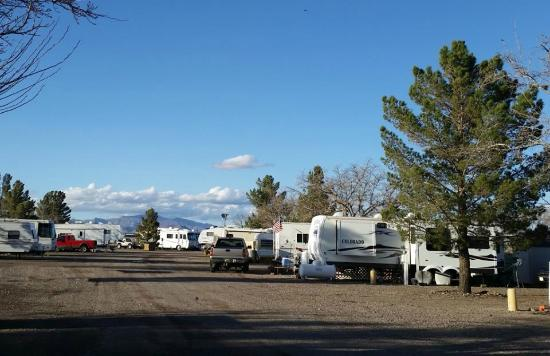 Park Picture Of A Deming Roadrunner Rv Park Deming